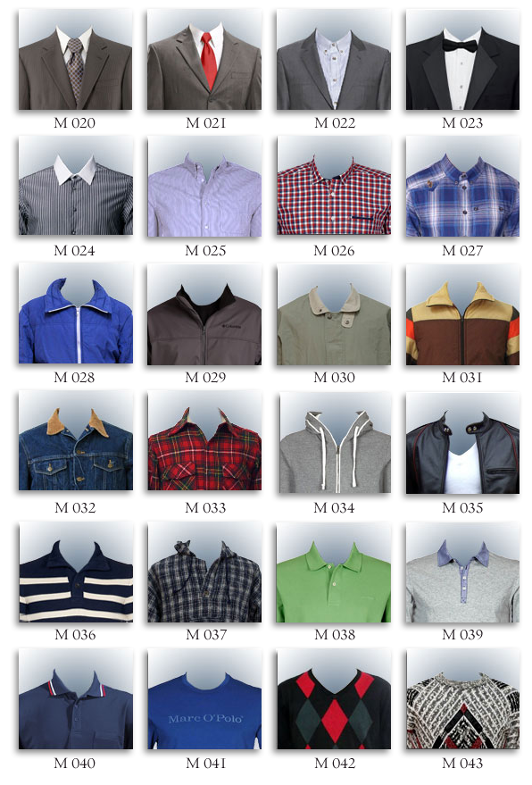 Cameo men's clothes